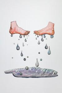 pies sudorosos